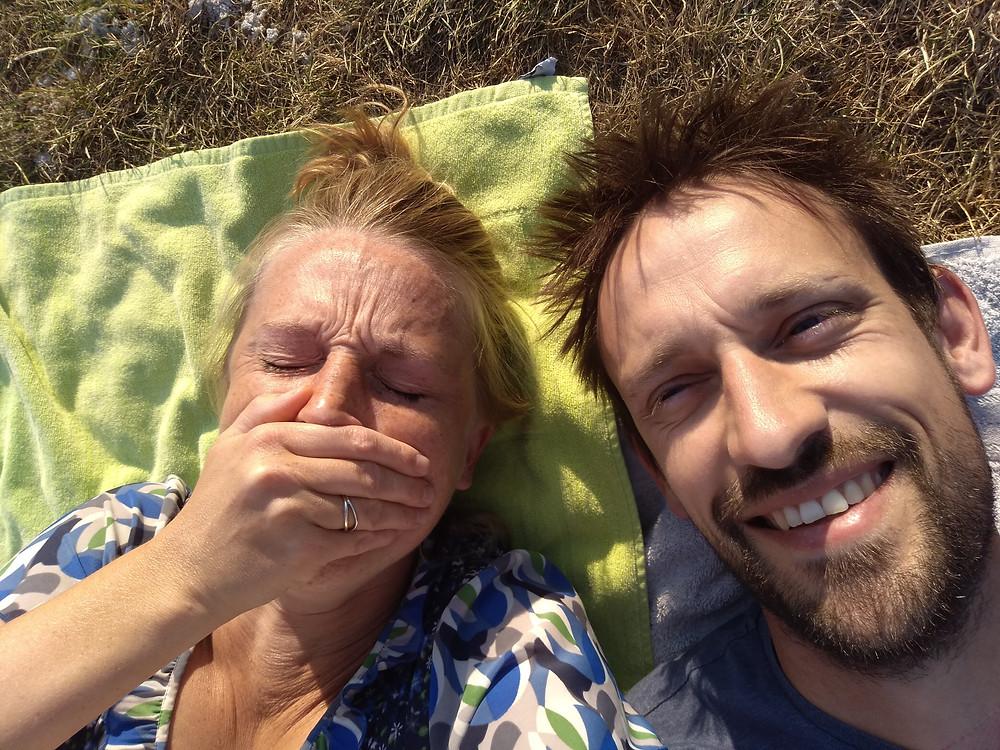 Selfie met een bronchitis niet makkelijk 😃