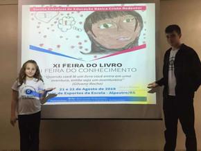 Ganhadores do concurso da ARTE da XI FEIRA DO LIVRO E II FEIRA DO CONHECIMENTO