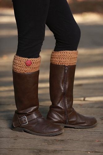 Boot Cuffs - Tan
