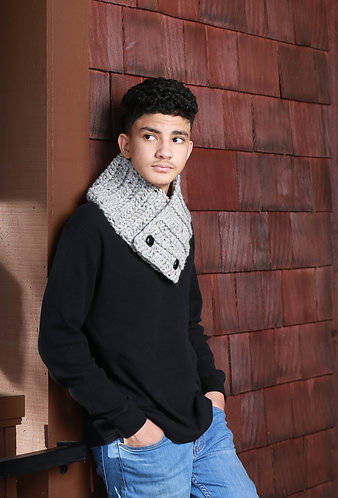 Neck Warmer - Gray