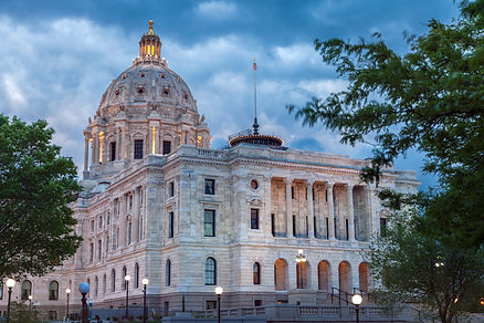 Minnesota State Capitol Building in St.