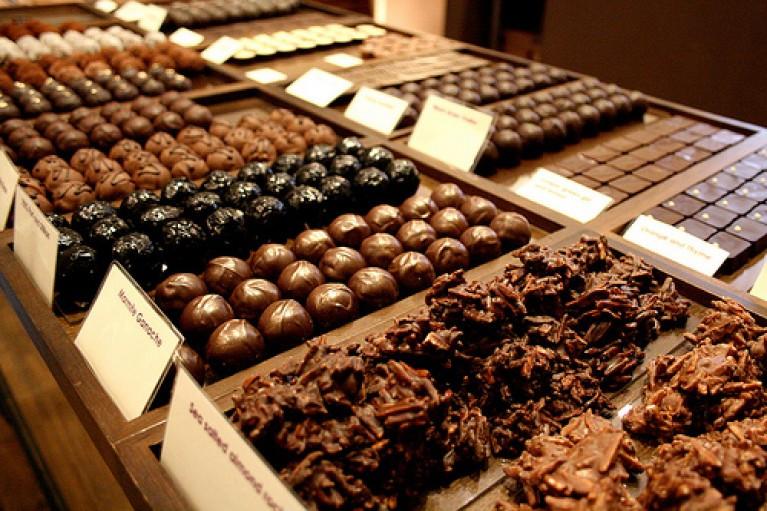 Chocolates en el Reino Unido
