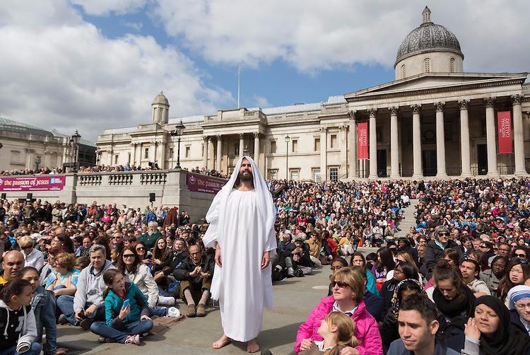 Pasión de Cristo en Trafalgar Square