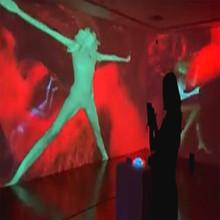 Hysterical Women Interactive Video Installation