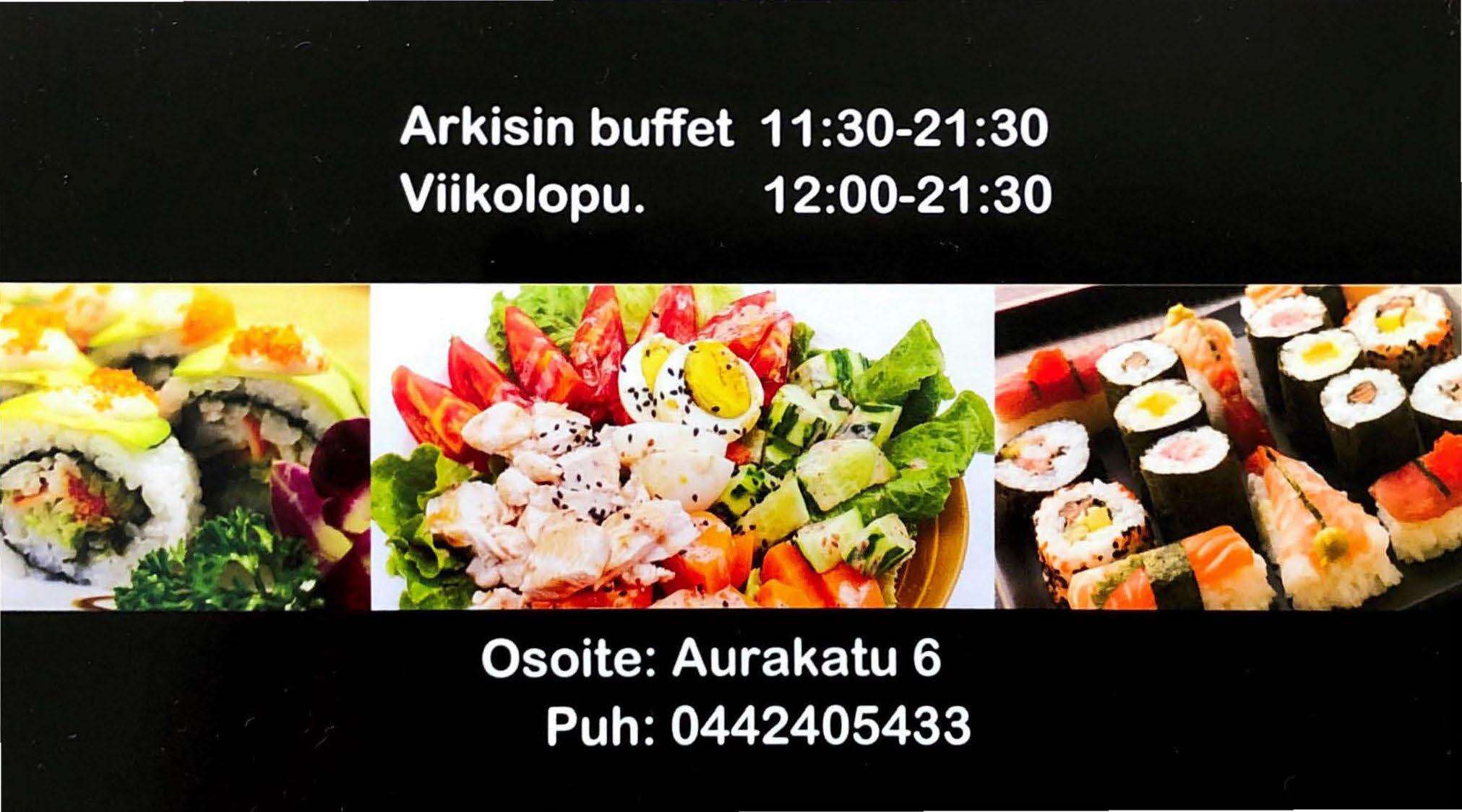 Sushibuffet Turku