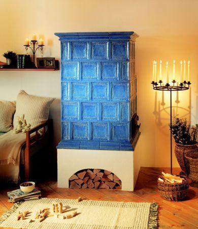 stlpova pec svetlo modra