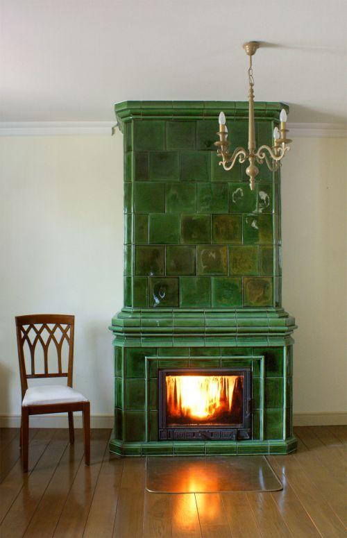 zelená stlpová pec