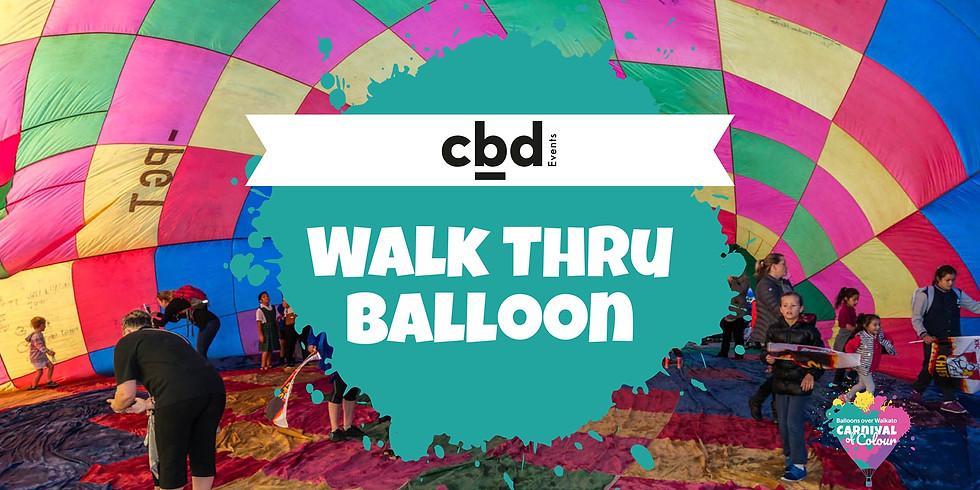 The CBD Walk Thru Balloon