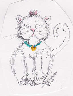 kitty by Jeannie Willets