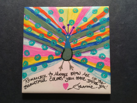 Inspired Tile  by Jeannie Willets