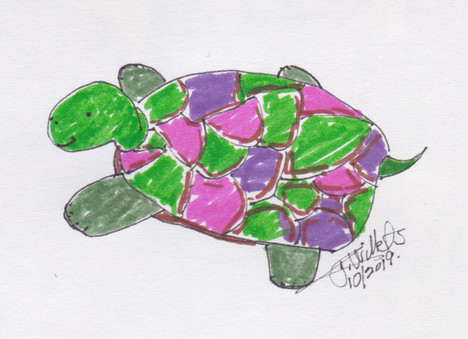 Turtle  by Jeannie Willets