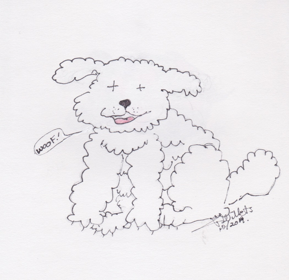 doggie by Jeannie Willets
