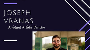 Introducing our new Assistant Artistic Director: Joseph Vranas!