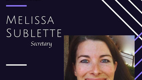 Meet our new Board Member: Melissa Sublette
