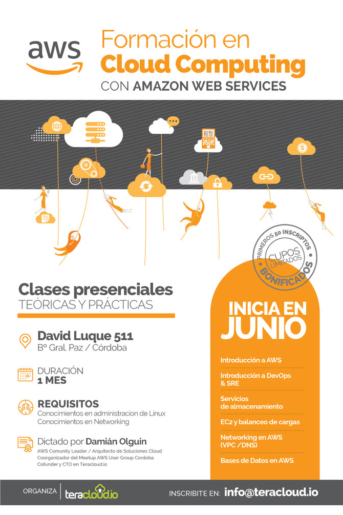 Invite: Free training in Cloud computing with Amazon Web Services