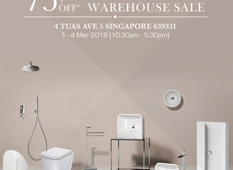 Up to 75%OFF* Hemsley's Designer Bathroom Warehouse Sale