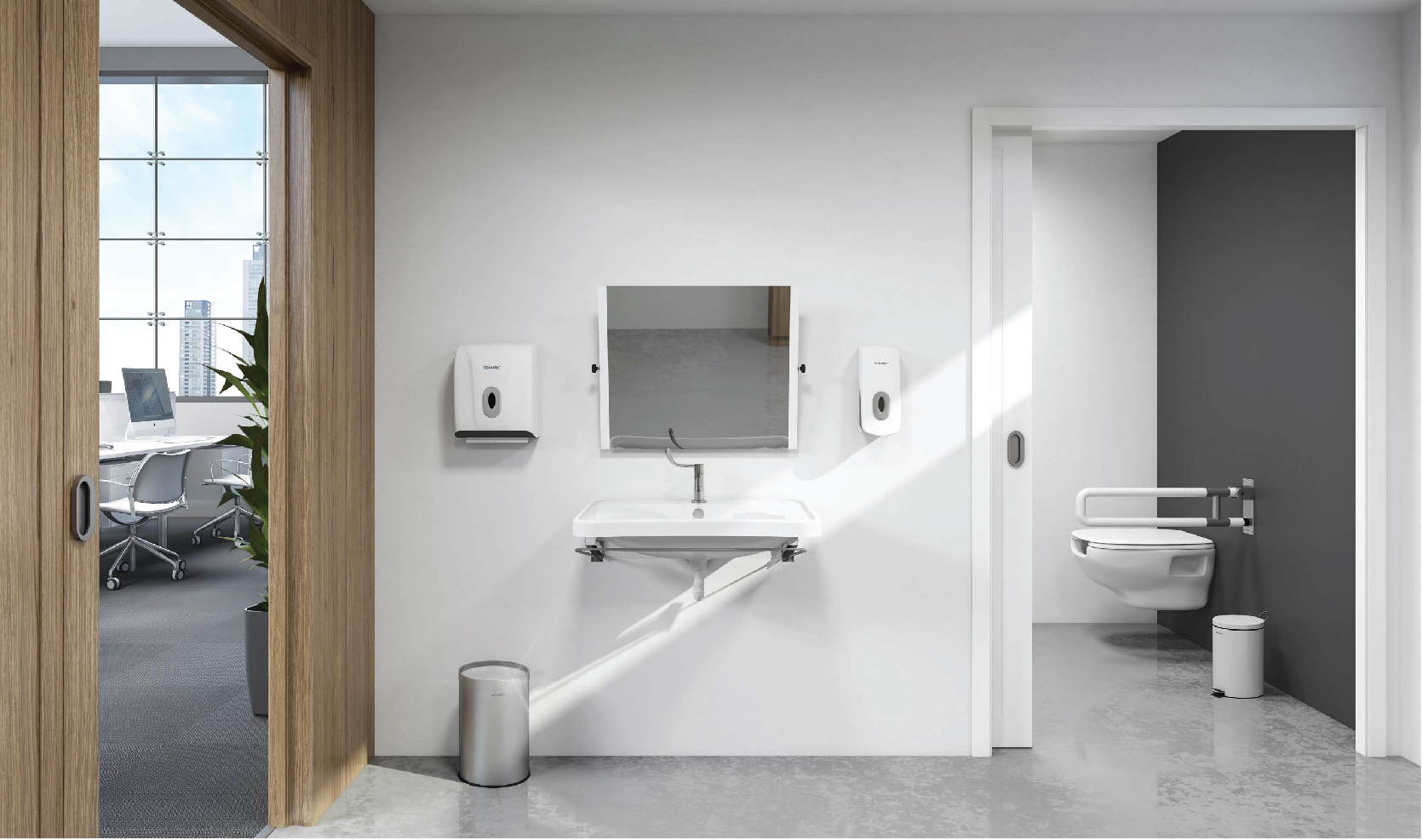 Genwec Commercial Toilet Accessories