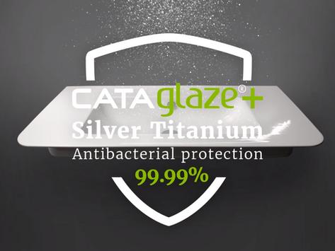 Cataglaze+ Silver Titanium Anti-bacterial Protection 99.99%