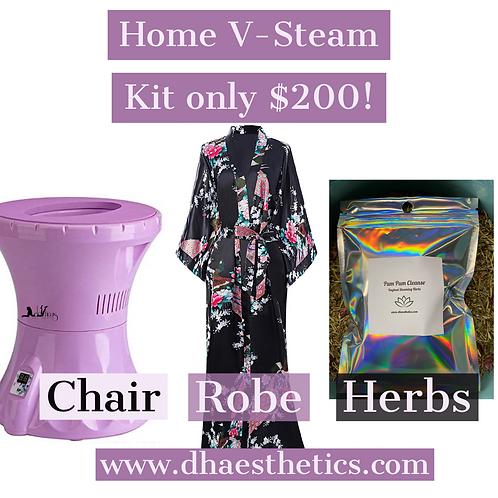 Pum Pum Cleanse V-Steam Kit
