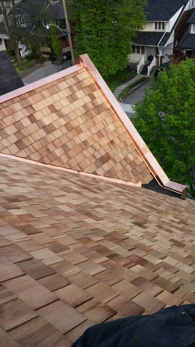 Cedar & Copper Installation