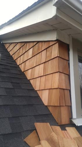 Cedar & Asphalt Shingle Installation