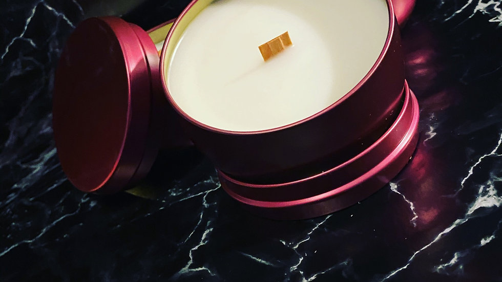 7.5 oz Tin scented candle