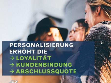 Kundenansprache - je individueller, desto besser.