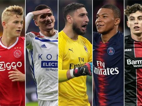 """CIES, la classifica dei 20 giovani più """"esperti"""" d'Europa: Donnarumma batte Mbappé."""