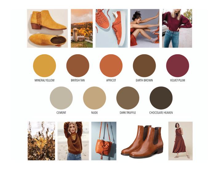 Seasonal Palette: Warm Colors