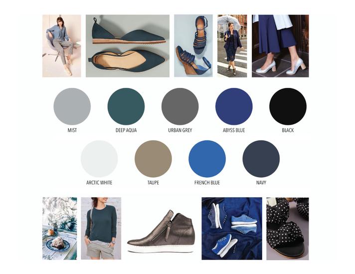 Seasonal Palette: Cool Colors