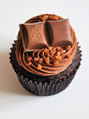 Caramilk Cupcake