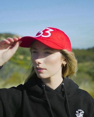 Model displaying Hat