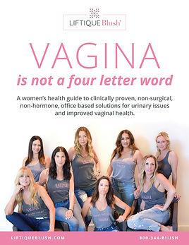 Liftique Pelvic Floor Health Brochure for women