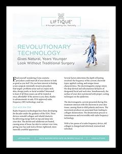 Liftique Technologies informational article