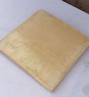 baldosa barro cocido color paja amarillo