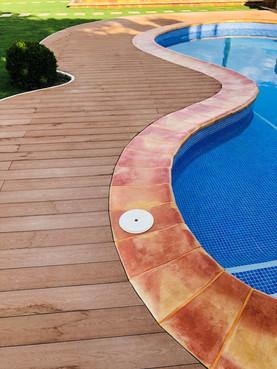 coronacion de piscina barro manual rusti