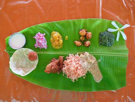 風景を創出する|南インドのバナナの葉のごはんとバナナ畑(世界の風土食6)