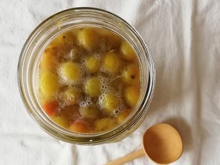 砂糖不使用!梅の酵素ジュース(シロップ)の作り方(梅仕事2)