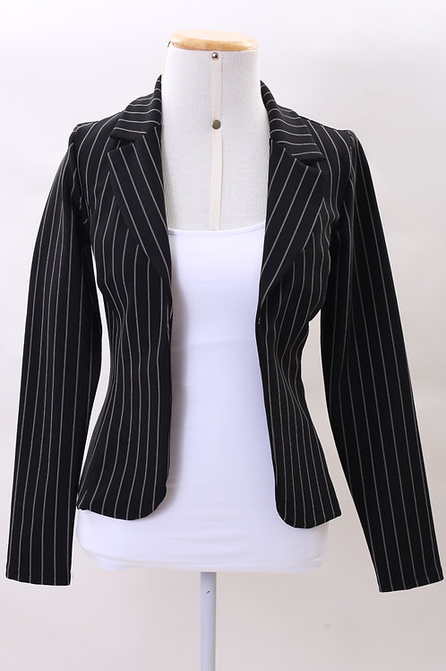 Blazer Fashion Color Nice Listrado
