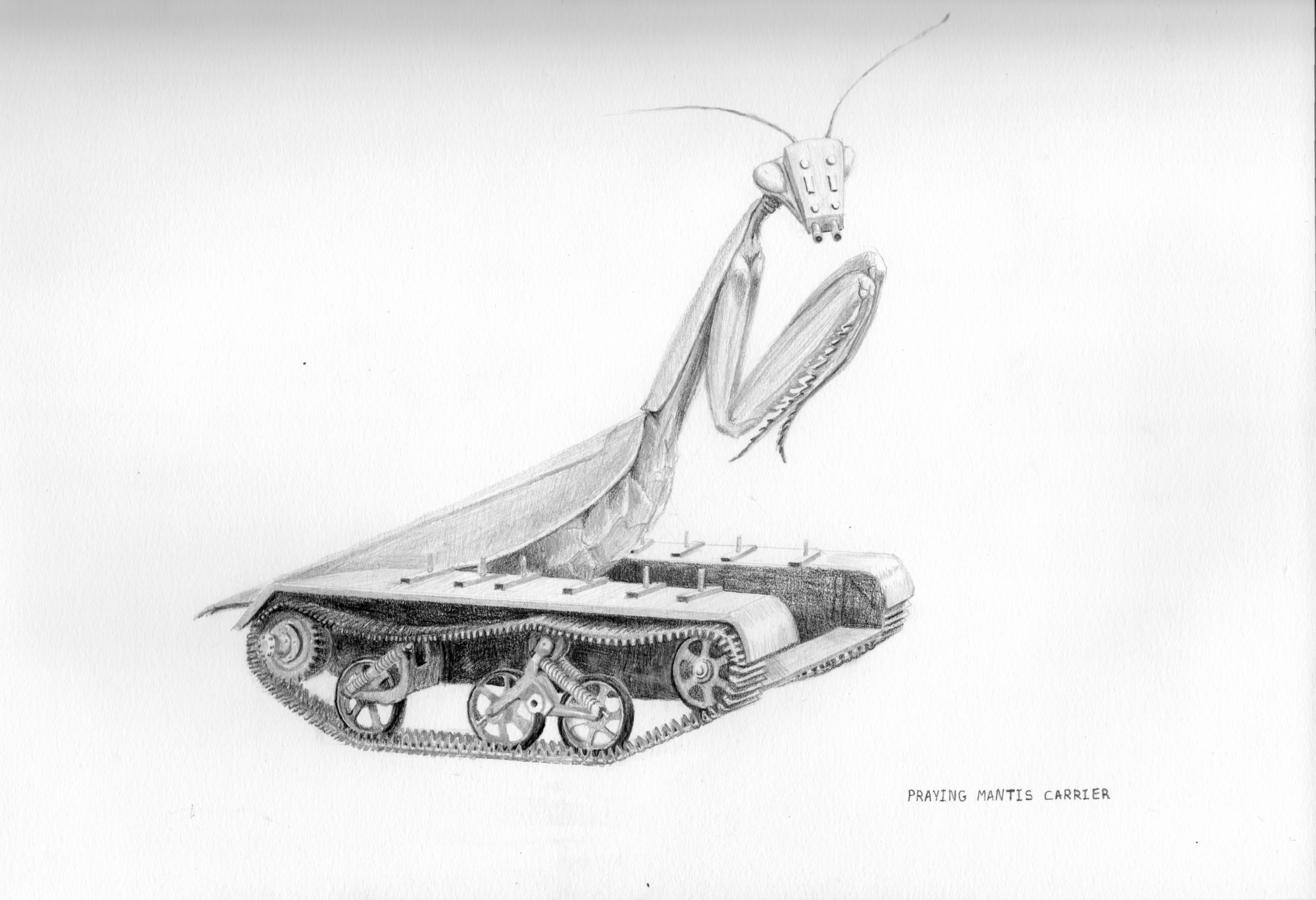 PRAYING MANTIS CARRIER