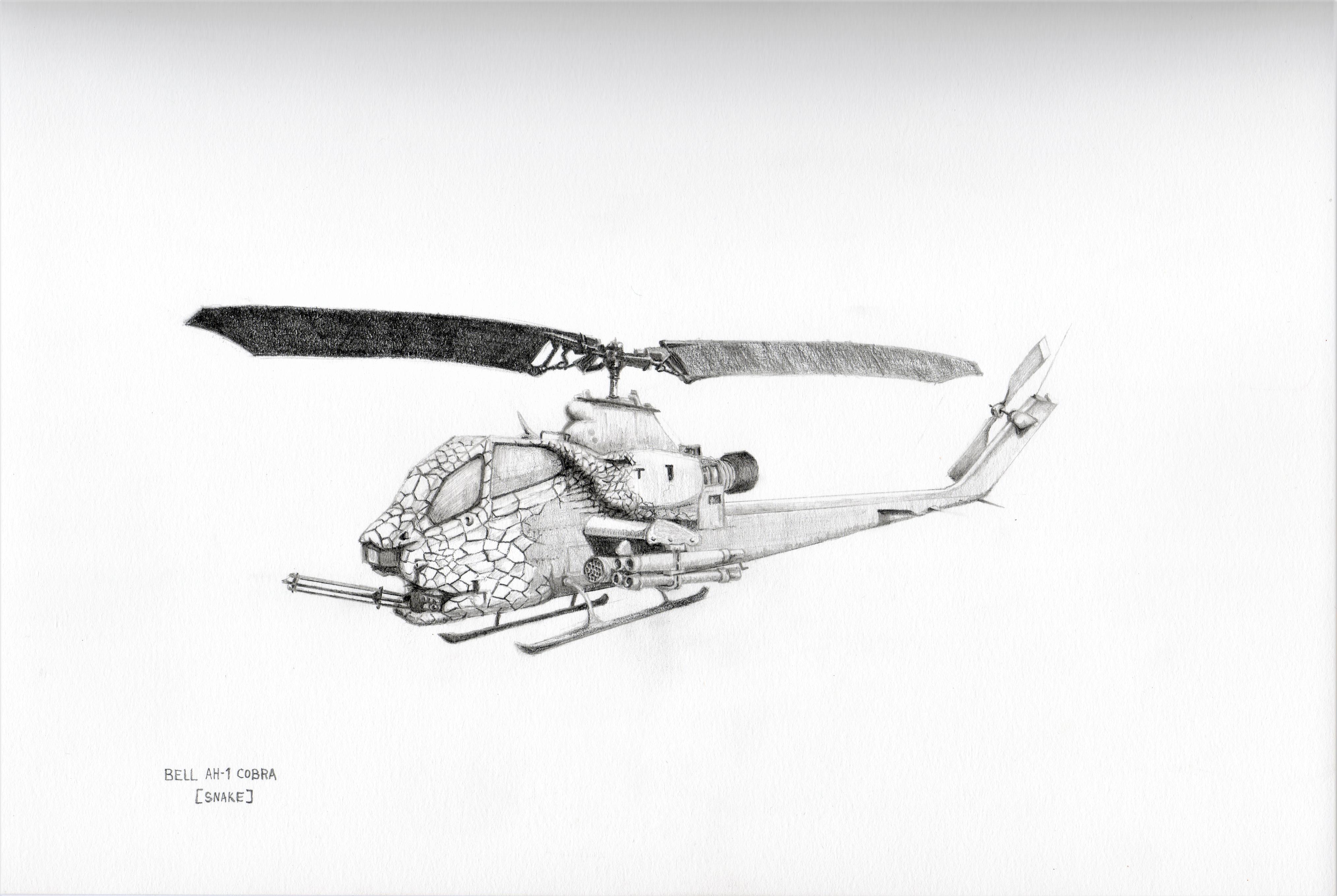 BELL AH-1 COBRA  (SNAKE)