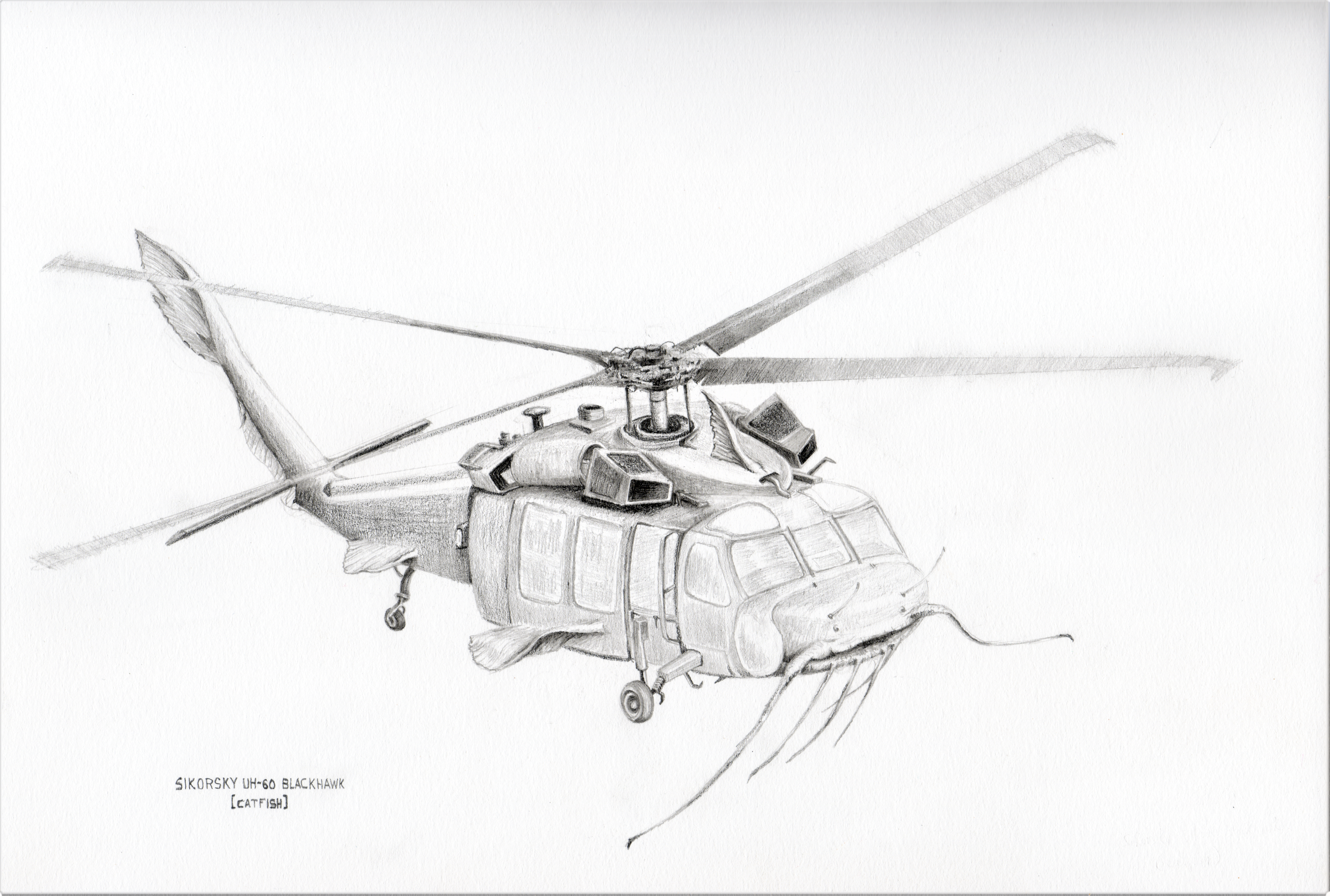 SIKORSKY UH-60 BLACKHAWK (CATFISH)