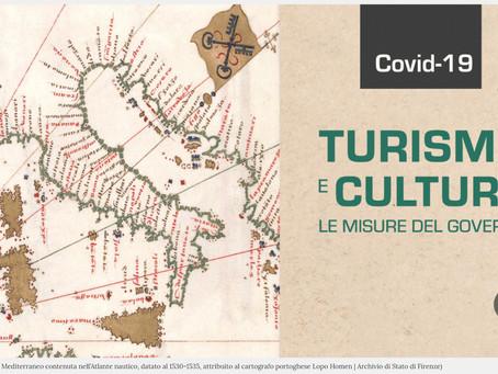COVID-19. LE MISURE DEL GOVERNO PER TURISMO E CULTURA.