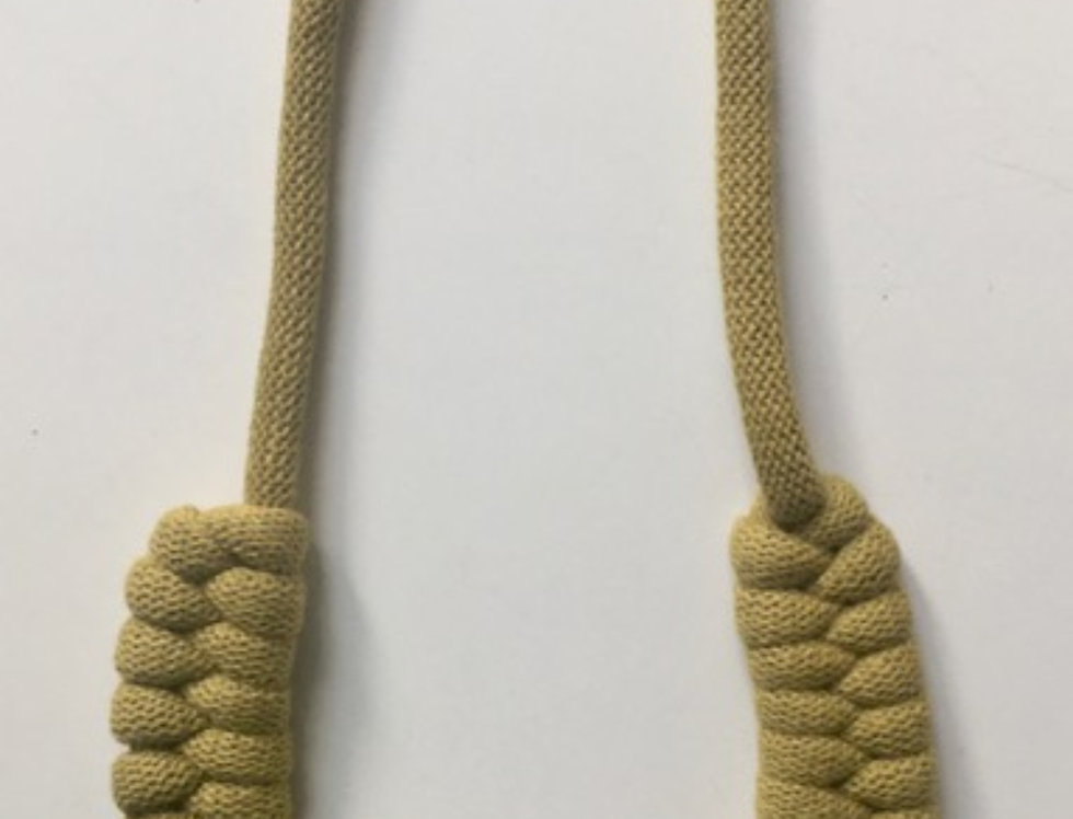 Citrus Lightweight Knotted Cotton Cord Necklace