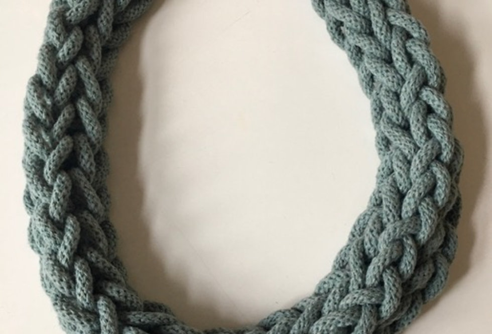 Sage Green Rope Style Necklace