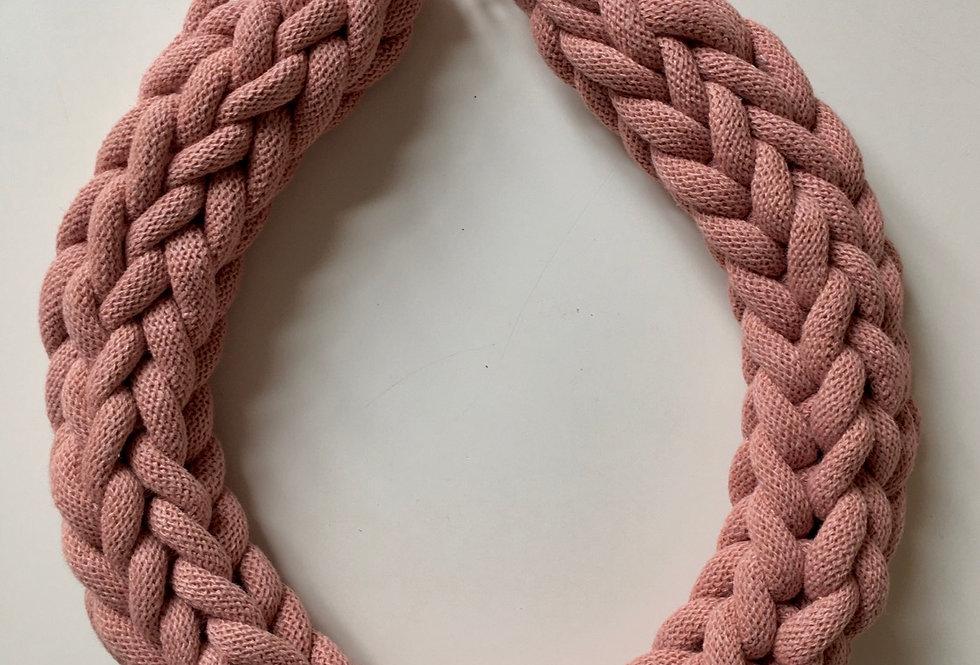 Chunky Blush Pink Necklace