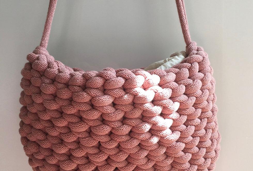 Blush Pink Shoulder Bag
