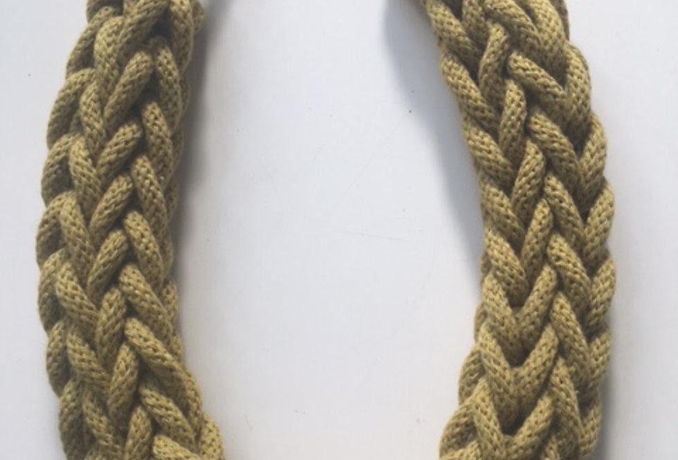 Citrus Rope Style Cotton Necklace