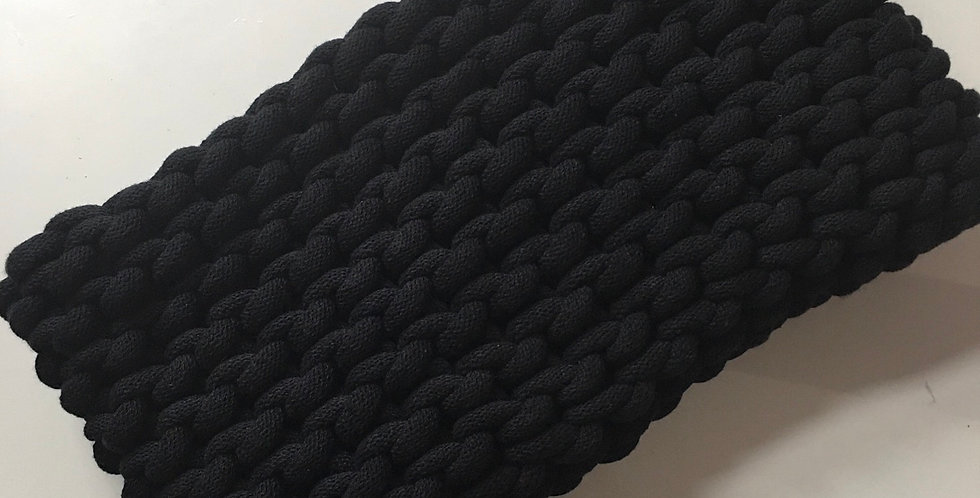 Large Black Clutch