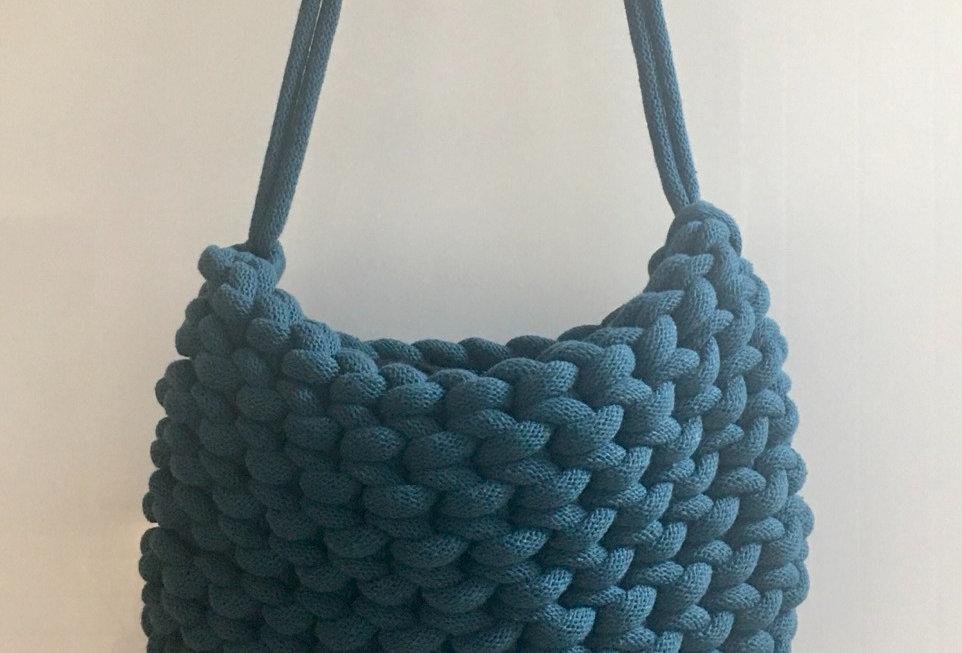 Peacock Blue Shoulder Bag